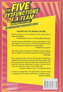 Livres Couvertures de The Five Dysfunctions of a Team: An Illustrated Leadership Fable Manga Edition