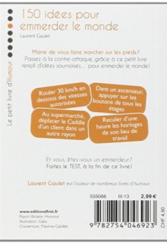 Livres Couvertures de Petit livre de - 150 idées pour emmerder le monde