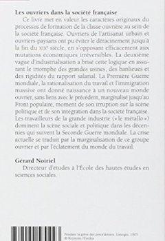 Telecharger Ouvriers dans la société française de Gerard Noiriel