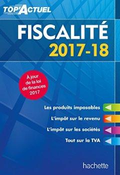 Livres Couvertures de Top'Actuel Fiscalité 2017-2018