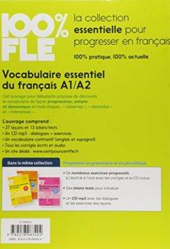 Livres Couvertures de Vocabulaire essentiel du français niv. A1 -A2 - Livre + CD