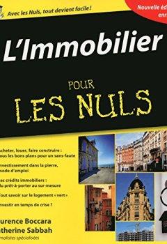 Livres Couvertures de L'Immobilier Pour les Nuls, 4ème édition