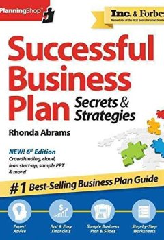 Livres Couvertures de [(Successful Business Plan : Secrets & Strategies)] [By (author) Rhonda Abrams] published on (June, 2014)