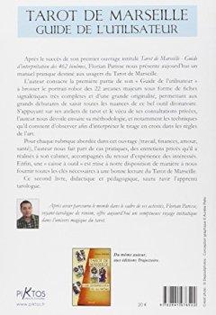 Livres Couvertures de Tarot de Marseille - Guide de l'utilisateur
