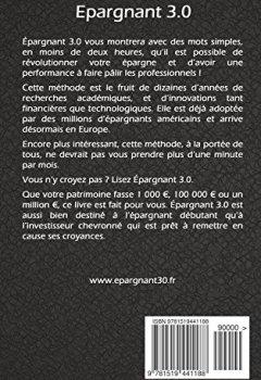 Livres Couvertures de Epargnant 3.0