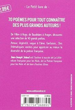 Livres Couvertures de Petit Livre de - La Nouvelle Petite Anthologie de la poésie française