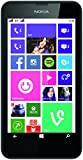 Nokia Lumia 630 Dual-SIM Smartphone (11,4 cm (4,5 Zoll) Touchscreen, 5 Megapixel Kamera, HD-Ready Video, Snapdragon 400, 1,2GHz Quad-Core, Windows Phone 8.1) schwarz