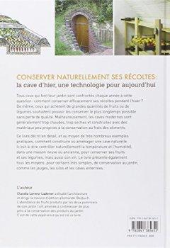 Livres Couvertures de Construire une cave naturelle : Construction et aménagement d'espaces pour la conservation des fruits et des légumes