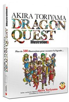 Livres Couvertures de Akira Toriyama Dragon Quest Illustrations