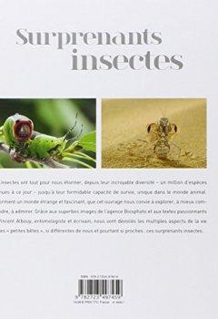Livres Couvertures de Surprenants insectes