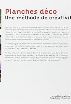 Livres Couvertures de Planches déco - Une méthode de créativité. Planches tendances. Concept-boards. Planches de style. Planches d'ambiance