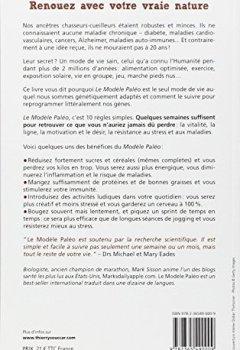 Livres Couvertures de Le modèle paléo