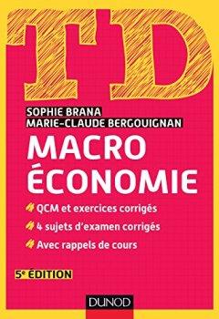 Livres Couvertures de TD Macroéconomie - 5e édition