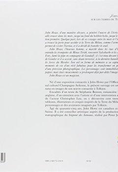 Livres Couvertures de John Howe : Sur les terres de Tolkien