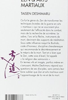 Livres Couvertures de Zen et Arts martiaux