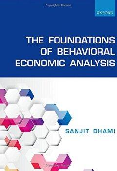 Livres Couvertures de The Foundations of Behavioral Economic Analysis