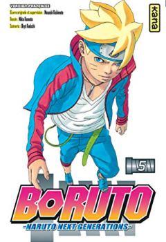 Livres Couvertures de Boruto - Naruto next generations -, tome 5
