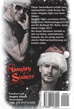 Buchdeckel von Naughty Sinners: Ein Bullhead MC-Weihnachts-Sammelband