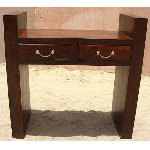 Image of Contemporary Rustic Rosewood Console Sofa Hall Foyer Table (B00127P6VI)