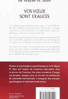 Livres Couvertures de Vos voeux sont exaucés : Les lois spirituelles pour réaliser se désirs