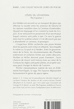 Livres Couvertures de The Expanse, Tome 1 : L'éveil du Léviathan