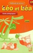 Livres Couvertures de Léo et Léa CP : Guide pédagogique, Programme 2008