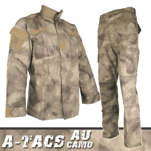 A-TACS BDU リアルカラー 迷彩服 戦闘服 上下セット 次世代都市迷彩 Mサイズ