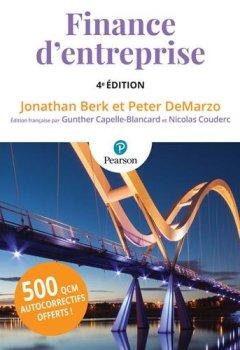 Livres Couvertures de Finance d'entreprise 4e édition + QCM