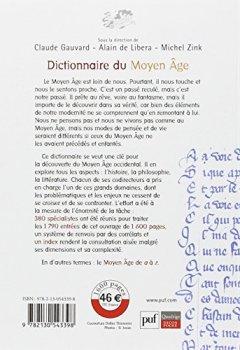 Livres Couvertures de Dictionnaire du Moyen Age