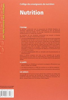 Livres Couvertures de NUTRITION 2ED