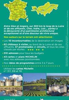 Livres Couvertures de Guide Vert Châteaux de la Loire Michelin