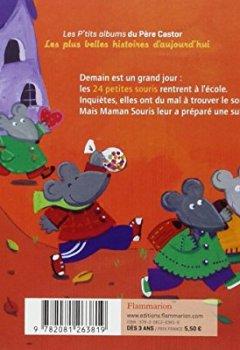 Livres Couvertures de 24 petites souris vont à l'école