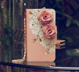3D-Rose-FLOWER-Beautiful-Cute-Camellia-Handbag-Leather-Wallet-Card-Strap-Case-Cover-For-Smart-Mobile-Phones