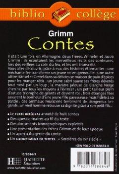 Livres Couvertures de Contes de Grimm