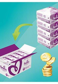 Livres Couvertures de Pampers - Active Fit - Couches Taille 4+ (9-18 kg/Maxi+) - Pack économique 1 mois de consommation (x140 couches)