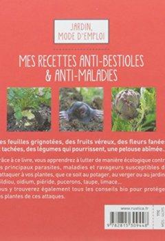 Livres Couvertures de Mes recettes anti-bestioles & anti-maladies