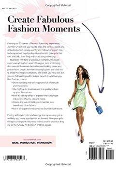 Livres Couvertures de Fashion Illustration Art: How to Draw Fun & Fabulous Figures, Trends & Styles