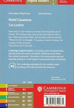 Livres Couvertures de Hotel Casanova Level 1
