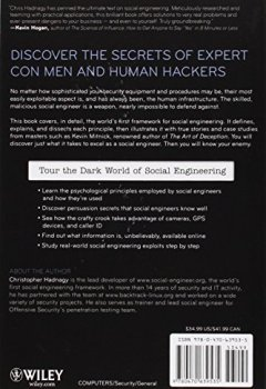 Livres Couvertures de Social Engineering: The Art of Human Hacking