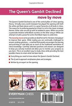 Livres Couvertures de The Queen's Gambit Declined: Move by Move