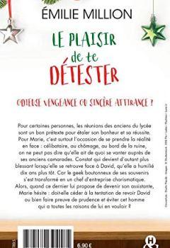 Livres Couvertures de Le plaisir de te détester: une comédie romantique idéale pour les fêtes de noël
