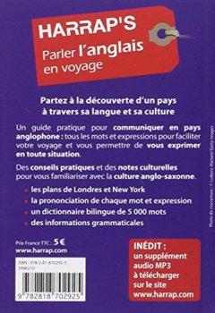 Livres Couvertures de Harrap's parler l'Anglais en voyage