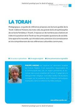 Livres Couvertures de La Torah : Une synthèse d'introduction et de référence pour éclairer le contexte, les épisodes, les valeurs et l'actualité du texte