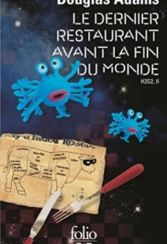 Livres Couvertures de H2G2 (Tome 2) - Le Dernier Restaurant avant la Fin du Monde