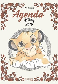 Livres Couvertures de Agenda Art-Thérapie Disney 2019