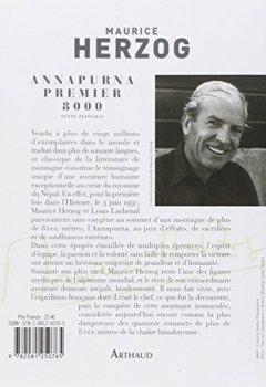 Livres Couvertures de Annapurna, premier 8000