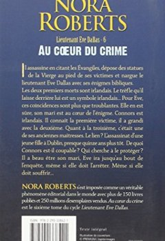 Livres Couvertures de Lieutenant Eve Dallas, tome 6 : Au coeur du crime