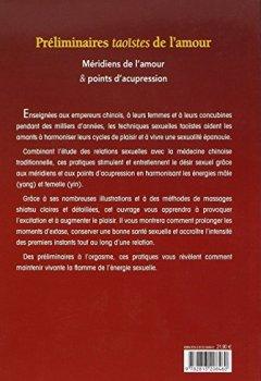 Livres Couvertures de Préliminaires taoïstes de l'amour : Méridiens de l'amour et points d'acupression