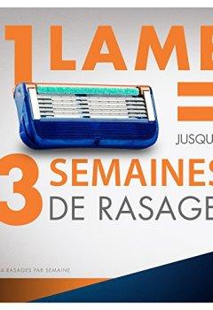 Livres Couvertures de Gillette Fusion Lames De Rasoir Pour Homme - 12Recharges