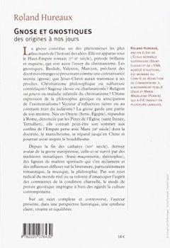 Livres Couvertures de Gnose et gnostiques des origines à nos jours